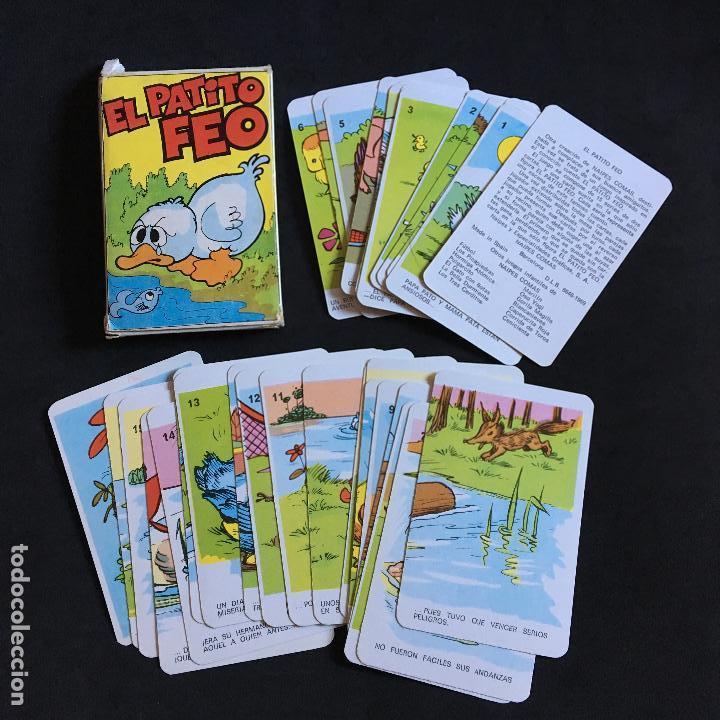 NAIPES COMAS EL PATITO FEO JUEGO INFANTIL NEGSA CARTAS BARAJA COMPLETA (Juguetes y Juegos - Cartas y Naipes - Barajas Infantiles)