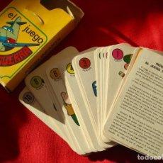 Barajas de cartas: EL JUEGO DE LA GUERRA- CARTAS---- EDICIONES RECREATIVAS--COMPLETA. Lote 147073042