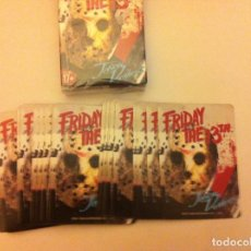 Barajas de cartas: FRIDAY THE 13TH. . Lote 147150346