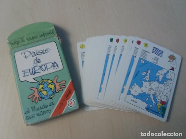 BARAJA NAIPE FOURNIER PAISES DE EUROPA AÑO 1994 FOURNIER (Juguetes y Juegos - Cartas y Naipes - Barajas Infantiles)