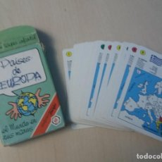 Barajas de cartas: BARAJA NAIPE FOURNIER PAISES DE EUROPA AÑO 1994 FOURNIER. Lote 147314214