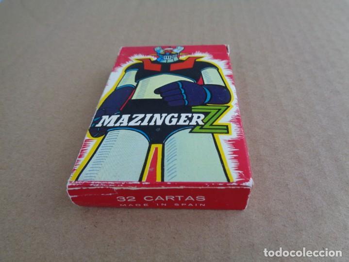 Barajas de cartas: baraja de fournier de mazinger z con caja en muy buen estado - Foto 2 - 147390858