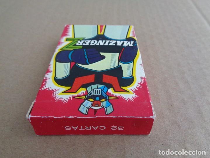 Barajas de cartas: baraja de fournier de mazinger z con caja en muy buen estado - Foto 4 - 147390858