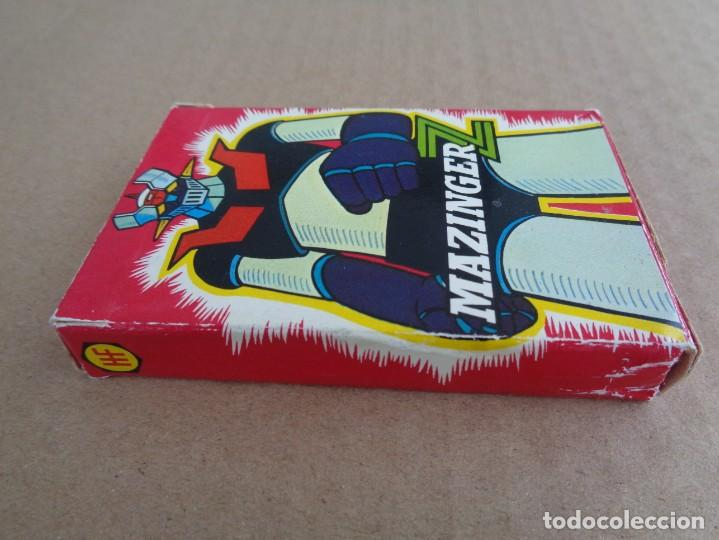 Barajas de cartas: baraja de fournier de mazinger z con caja en muy buen estado - Foto 5 - 147390858