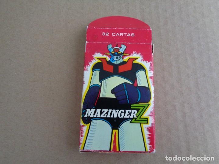 Barajas de cartas: baraja de fournier de mazinger z con caja en muy buen estado - Foto 7 - 147390858