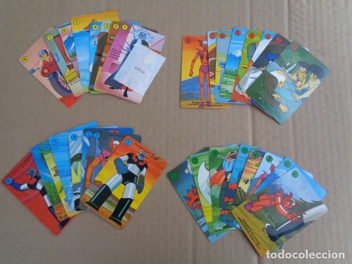 Barajas de cartas: baraja de fournier de mazinger z con caja en muy buen estado - Foto 9 - 147390858