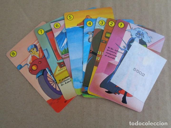 Barajas de cartas: baraja de fournier de mazinger z con caja en muy buen estado - Foto 10 - 147390858