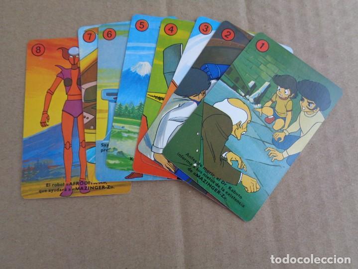 Barajas de cartas: baraja de fournier de mazinger z con caja en muy buen estado - Foto 11 - 147390858