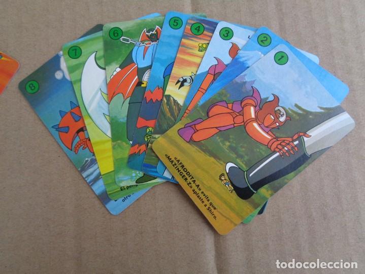 Barajas de cartas: baraja de fournier de mazinger z con caja en muy buen estado - Foto 12 - 147390858