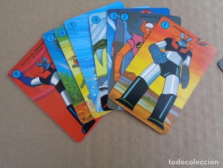 Barajas de cartas: baraja de fournier de mazinger z con caja en muy buen estado - Foto 13 - 147390858