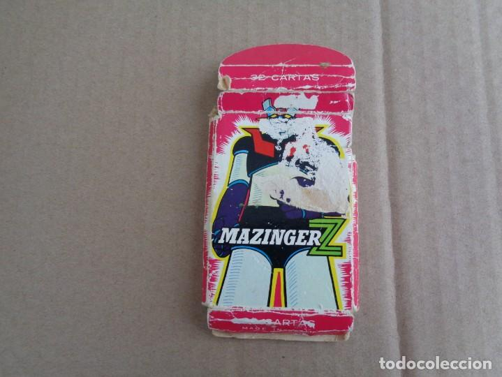 BARAJA DE FOURNIER DE MAZINGER Z COMPLETA CON CAJA (Juguetes y Juegos - Cartas y Naipes - Barajas Infantiles)