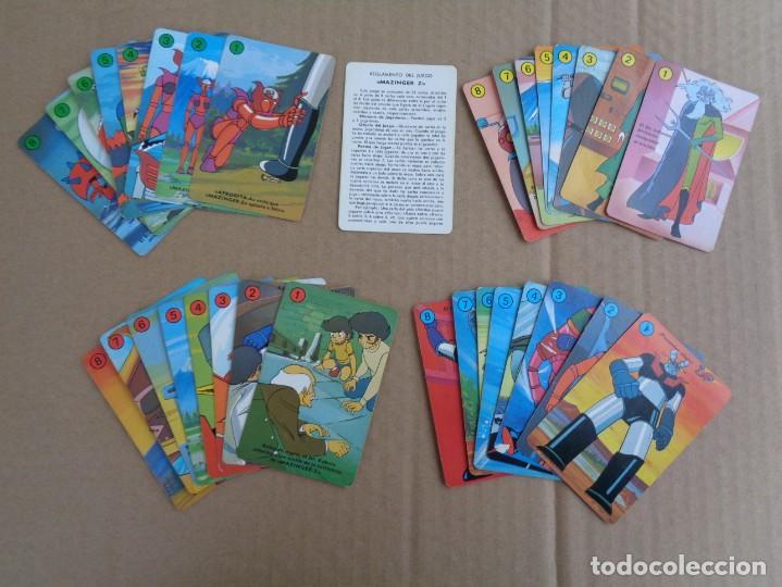 Barajas de cartas: baraja de fournier de mazinger z completa con caja - Foto 6 - 147391890