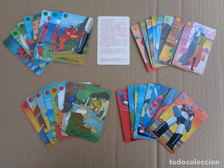 Barajas de cartas: baraja de fournier de mazinger z completa con caja - Foto 7 - 147391890