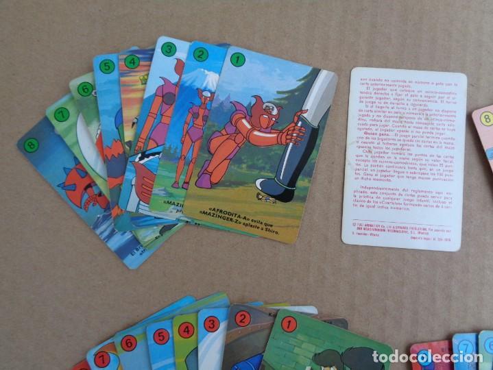 Barajas de cartas: baraja de fournier de mazinger z completa con caja - Foto 8 - 147391890