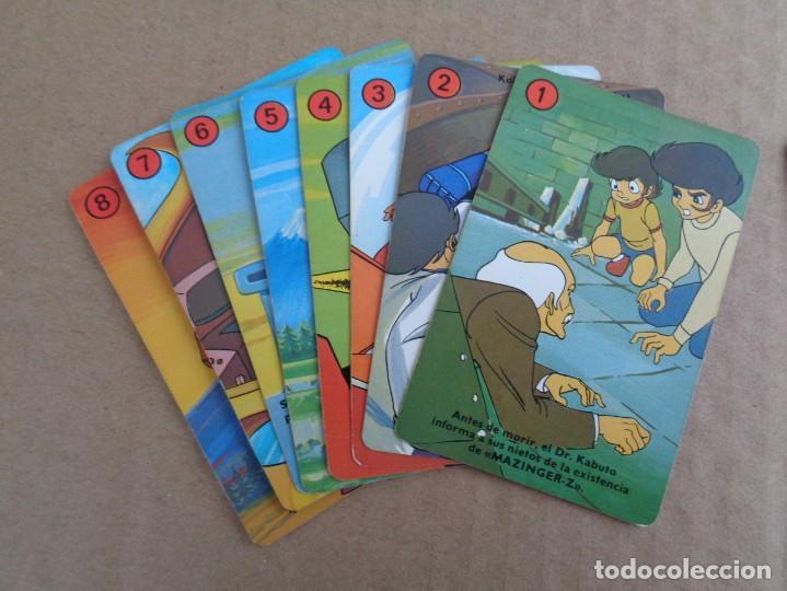 Barajas de cartas: baraja de fournier de mazinger z completa con caja - Foto 9 - 147391890