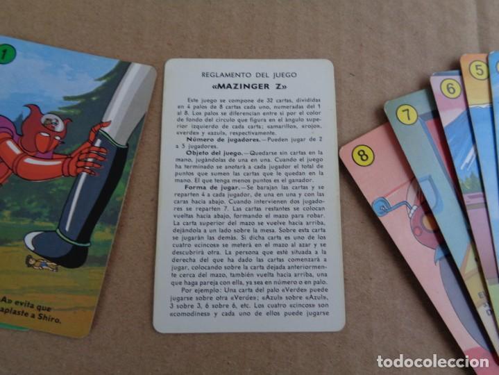 Barajas de cartas: baraja de fournier de mazinger z completa con caja - Foto 13 - 147391890