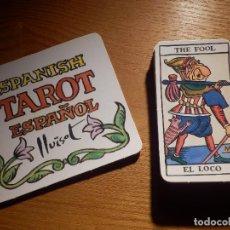 Barajas de cartas: BARAJA DE TAROT - EL JUEVES - 22 CARTAS - LLUISOT 1990. Lote 147414346
