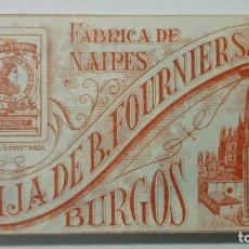 Barajas de cartas: ANTIGUA BARAJA DE CARTAS, HIJA DE FOURNIER, BURGOS, CLASE QUEBRADA. Lote 147441758