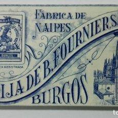 Barajas de cartas: ANTIGUA BARAJA DE CARTAS, HIJA DE FOURNIER, BURGOS, FLORETE Nº 14. Lote 147442450