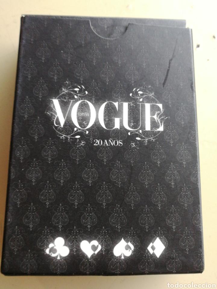 BARAJA DE POKER VOGUE CONMEMORATIVA 20 AÑOS (Juguetes y Juegos - Cartas y Naipes - Barajas de Póker)