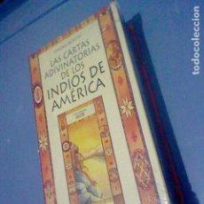Barajas de cartas: TAROT INDIOS AMERICA CARTAS ADIVINATORIAS SIMONE BEDETTI PRECINTADA. Lote 147501410