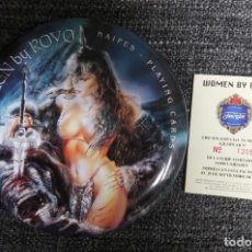 Barajas de cartas: WOMEN PLAYING CARDS. LUIS ROYO. NUEVO. Lote 147538834