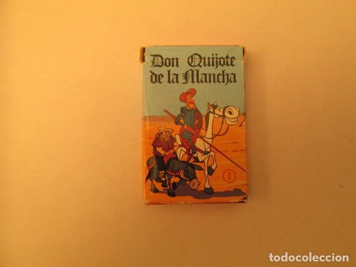 DON QUIJOTE DE LA MANCHA HERACLIO FOURNIER (Juguetes y Juegos - Cartas y Naipes - Barajas Infantiles)