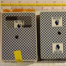 Barajas de cartas: BARAJA DE CARTAS DE PÓKER. DESCARTE CASINO LAS VEGAS CAESAR'S PALACE. 100 GR. Lote 147648450