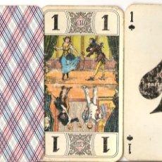 Barajas de cartas: BARAJA, TAROT, 78 CARTAS, CARTA MUNDI, USADA. Lote 147732518