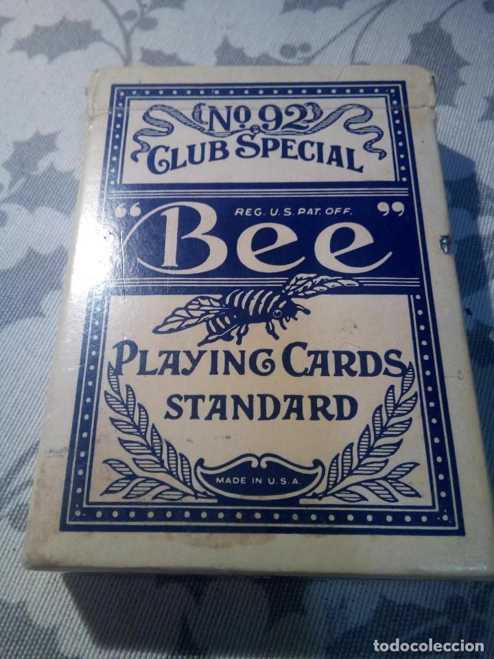 BARAJA DE POKER BEE SILVER BIRD CASINO LAS VEGAS (Juguetes y Juegos - Cartas y Naipes - Barajas de Póker)