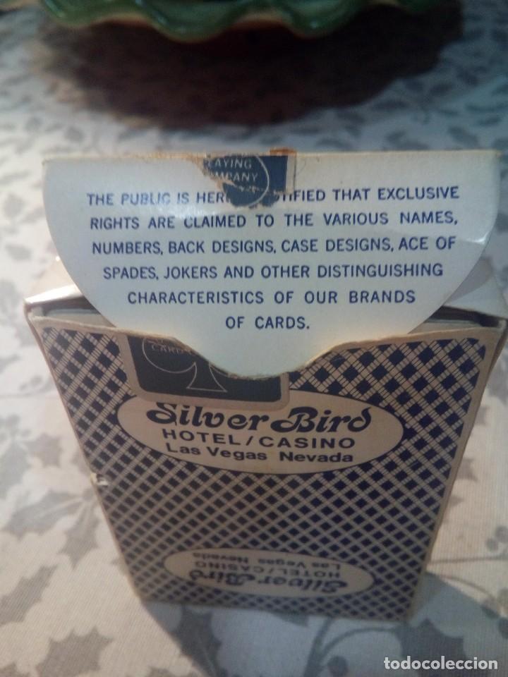 Barajas de cartas: BARAJA DE POKER BEE SILVER BIRD CASINO LAS VEGAS - Foto 6 - 147737818