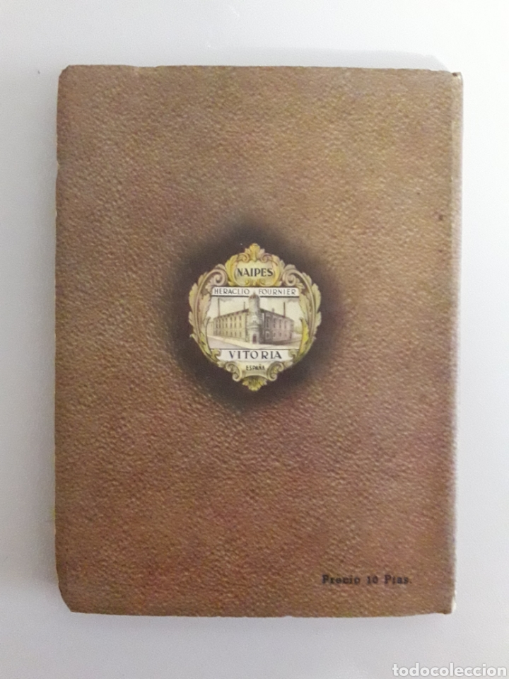 Barajas de cartas: HERACLIO FOURNIER. ANTIGUO LIBRITO DE 1950. JUEGOS DE NAIPES EXTRANJEROS. - Foto 2 - 147754736