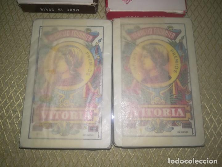 Barajas de cartas: 2 barajas de publicidad heraclio Fournier brandy espléndido y entrefinos java miren fotos - Foto 3 - 147754978