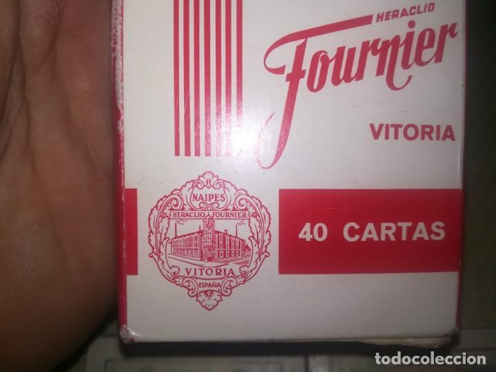 Barajas de cartas: 2 barajas de publicidad heraclio Fournier brandy espléndido y entrefinos java miren fotos - Foto 7 - 147754978
