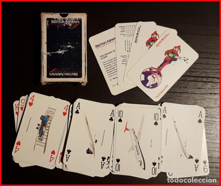 BARAJA DE CARTAS BRITISH AIRWAYS AVIONES LA HISTORIA DEL VUELO DE PASAJEROS (Spielzeug - Kartenspiele und Spielkarten - Andere Kartenspiele)