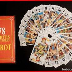Barajas de cartas: BARAJA TAROT 78 CARTAS. Lote 147758450