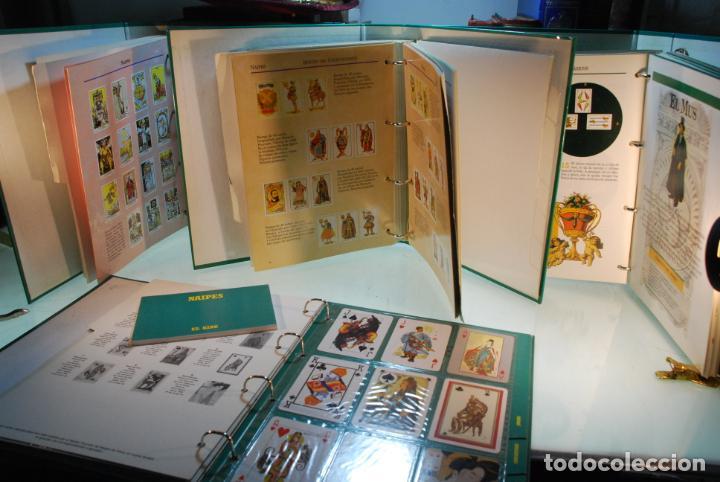 Barajas de cartas: GRAN LOTE DE LA COLECCIÓN NAIPES DE ALTAYA - 4 ARCHIVADORES COMPLETOS - ESPECTACULAR - - Foto 4 - 147901090