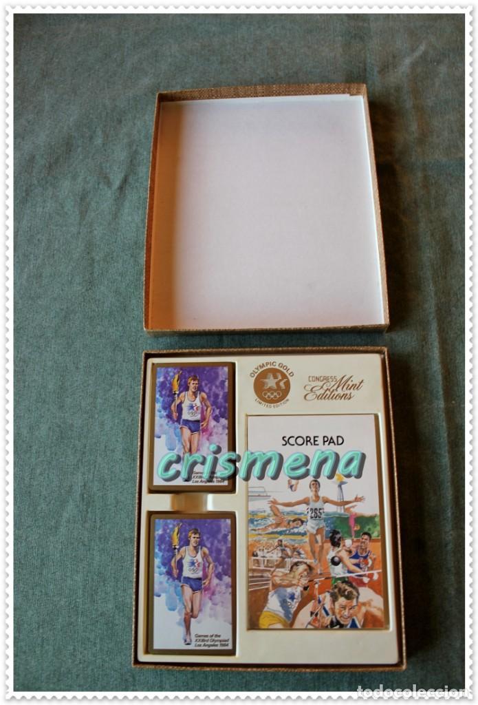 BARAJA OLIMPIADAS LOS ANGELES 1984 THE UNITED STATES PLAYING CARD COMPANY VER FOTOS PARA ESTADO (Juguetes y Juegos - Cartas y Naipes - Barajas de Póker)