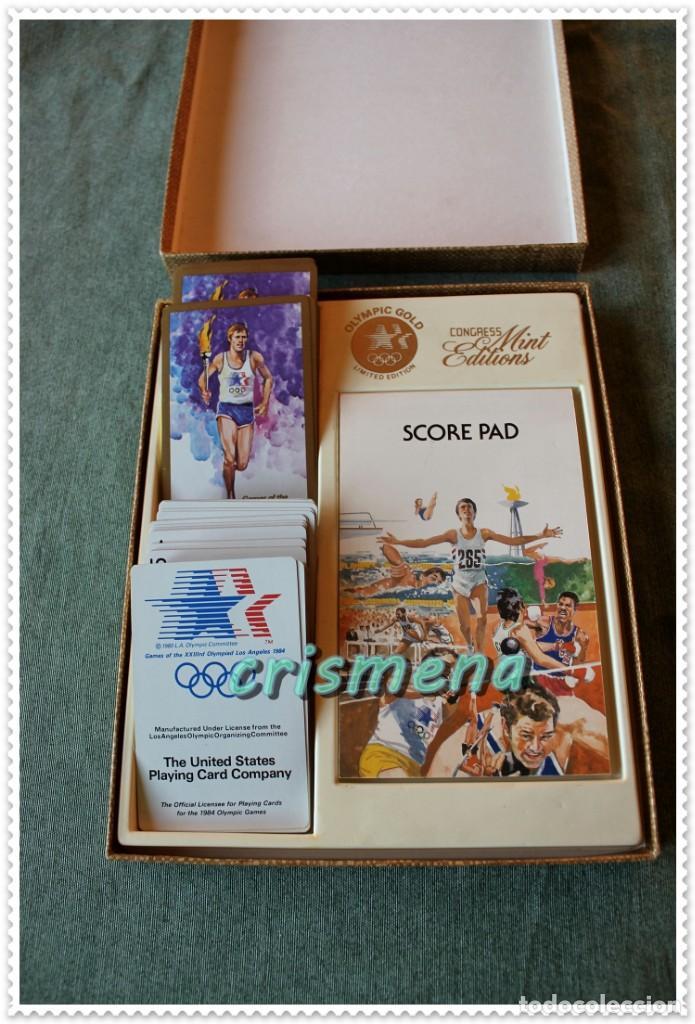 Barajas de cartas: BARAJA OLIMPIADAS LOS ANGELES 1984 THE UNITED STATES PLAYING CARD COMPANY VER FOTOS PARA ESTADO - Foto 3 - 147907554