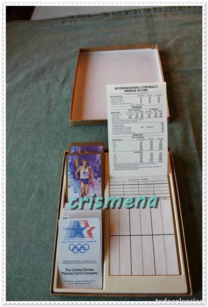 Barajas de cartas: BARAJA OLIMPIADAS LOS ANGELES 1984 THE UNITED STATES PLAYING CARD COMPANY VER FOTOS PARA ESTADO - Foto 4 - 147907554