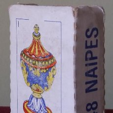 Barajas de cartas: ANTIGUA MINI-BARAJA ESPAÑOLA DE COLECCIÓN (48 NAIPES) MEDIDAS: 5,5 X 3,8 CMTS.. Lote 148011530