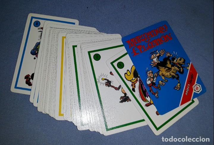 BARAJA DE CARTAS DE MORTADELO Y FILEMON FOURNIER AÑO 1994 COMPLETA ORIGINAL VER FOTOS Y DESCRIPCION (Juguetes y Juegos - Cartas y Naipes - Barajas Infantiles)