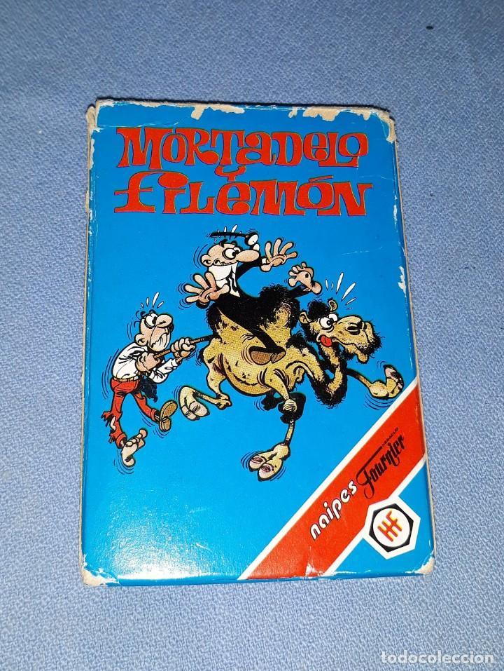 Barajas de cartas: BARAJA DE CARTAS DE MORTADELO Y FILEMON FOURNIER AÑO 1994 COMPLETA ORIGINAL VER FOTOS Y DESCRIPCION - Foto 2 - 148161398