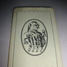 Jeux de cartes: CARTA NAIPE JOKER AMPLIA TU COLECCION VER FOTO PARTE TRASERA. Lote 148458150