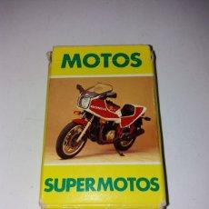 Barajas de cartas: BARAJA MOTOS SUPERMOTOS HERACLIO FOURNIER 1984. Lote 148613833