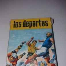 Barajas de cartas: BARAJA CARTAS JUEGO FAMILIAS LOS DEPORTES HERACLIO FOURNIER. Lote 148616288