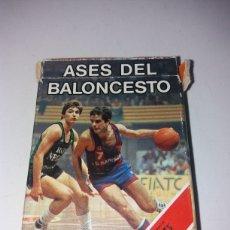 Barajas de cartas - Baraja cartas ases del baloncesto heraclio fournier 1985 - 148618209