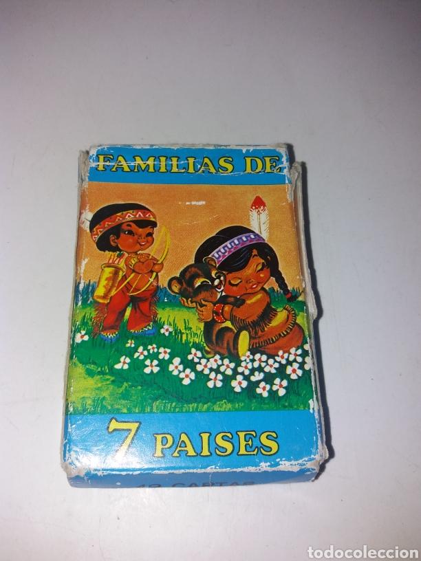 BARAJA CARTAS FAMILIAS DE 7 PAISES HERACLIO FOURNIER (Juguetes y Juegos - Cartas y Naipes - Otras Barajas)