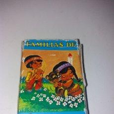 Barajas de cartas: BARAJA CARTAS FAMILIAS DE 7 PAISES HERACLIO FOURNIER. Lote 148618573