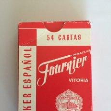Barajas de cartas: BARAJAS/CARTAS PÓKER ESPAÑOL. HERACLIO FOURNIER. Lote 148812041